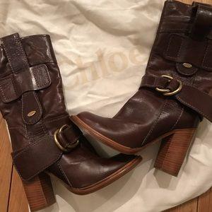 💯 Chloe Boots